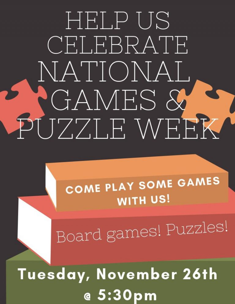 Put together a puzzle! Learn a Board Game!
